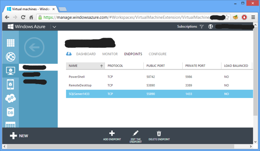 Sql Server SSMS To Azure