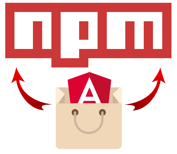 Create an Angular component library for npm